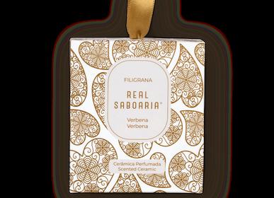 Home fragrances - Filigrana Scented Ceramic - REAL SABOARIA