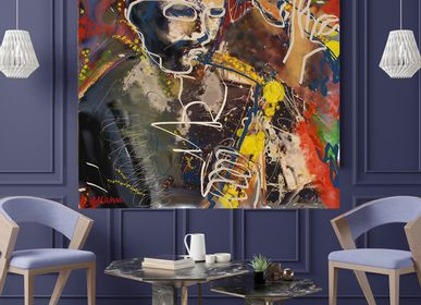 "Paintings - ""Seb & Chass"" Limited Edition Painting - L'ATELIER D'ANGES HEUREUX"
