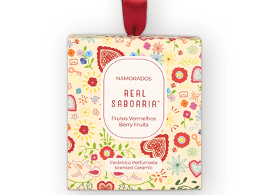Home fragrances - Namorados Scented Ceramic - REAL SABOARIA
