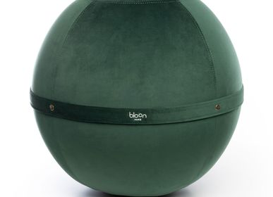 Assises pour bureau - Bloon Velvet - Vert Emeraude - BLOON PARIS