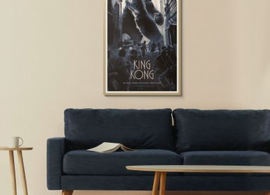 Objets de décoration - AFFICHE KING KONG - PLAKAT - DESIGNING MOVIE POSTERS -