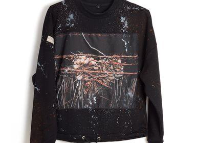 Apparel - EmotionDust WireHeart, Sweatshirt - RECLS ®