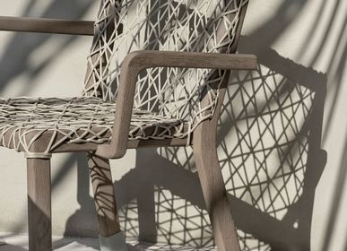 Lawn chairs - Rafael collection, dining armchair - ETHIMO