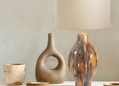 Table lamps - Lamp base Chahut TOHU-BOHU and STORM - IOM INES-OLYMPE MERCADAL