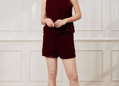 Homewear - Velvet Short Pyjamas Set | Rosewood - THE ANNAM HOUSE