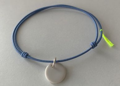 Jewelry - Bracelet Essentiel Turquoise Porcelaine Blanche - MARGOTE CERAMISTE