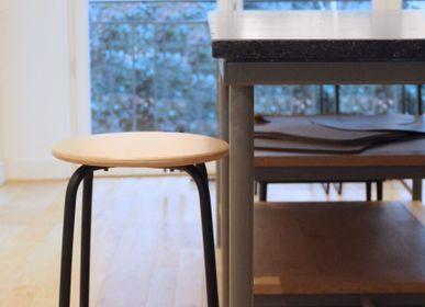 Chairs - Le tabouret TL10 - LA CHAISE FRANÇAISE