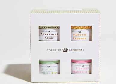 Candy - Discovery box of 4 pots of 100g - CONFITURE PARISIENNE