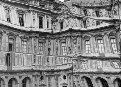 Papiers peints - Papier peint Louvre Reflection  - INCREATION