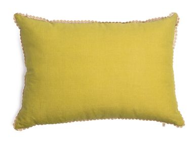 Cushions - Green Pea cushion cover - TRACES OF ME