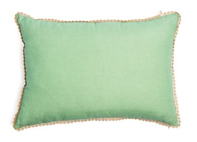 Cushions - Pale Begonia Cushion cover - TRACES OF ME