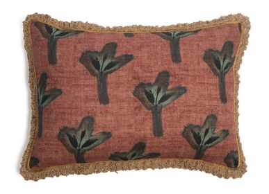 Cushions - Bush leaves cushion cover - TRACES OF ME
