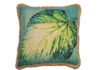 Cushions - Leaf cushion cover - TRACES OF ME