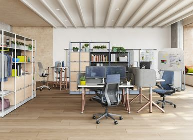 Office furniture and storage - Flex Active Frames Shelves - STEELCASE