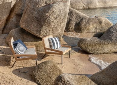 Lawn armchairs - Allaperto, lounge set Nautic mood, by Matteo Thun and Antonio Rodriguez - ETHIMO