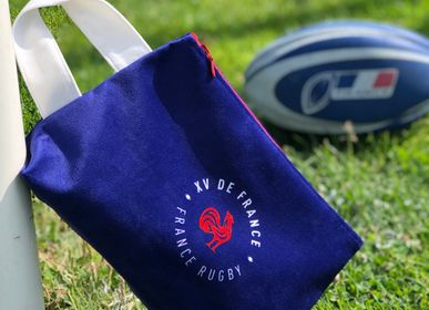 Travel accessories - France Rugby Official Toiletry Bags - LOOPITA