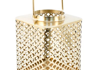 Decorative objects - Gold lantern - NUHR