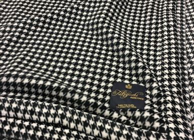 Throw blankets - Houndstooth check Blanket - TAKIYOSHI