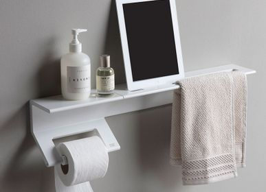 Bath towels - shelf made of aluminium  - EVER LIFE DESIGN