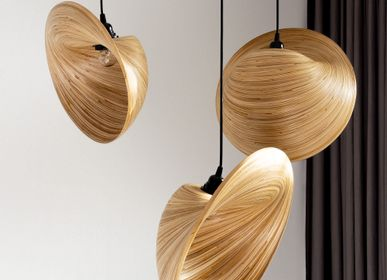 Design objects - PERISKOP bamboo handmade hanging lamp, pendant light, cluster light - BAMBUSA BALI