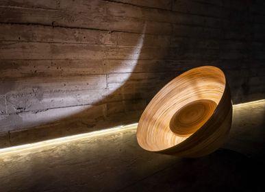 Objets de décoration - BOOTON Lampadaire en bambou fait main, lampe de sol pour salon et chambre - BAMBUSA BALI