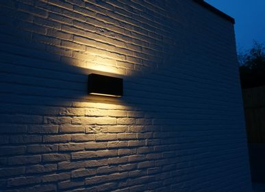 Outdoor wall lamps - Outdoor wall lamp Q-bri - AUTHENTAGE LIGHTING