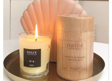 Design objects - NATURAL ROUND BOX DOLCE CANDLE - NATOÈ FRAGRANCES