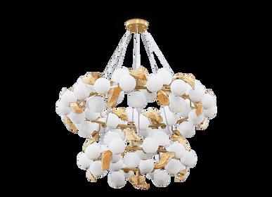 Hanging lights - HERA ROUND II Suspension Lamp - BOCA DO LOBO