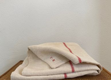 "Throw blankets - Winegrower blanket ""the MR"" - L'ATELIER DES CREATEURS"