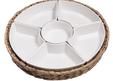 Platter and bowls - OVEN DISH 41X26 CM MELODY - TABLE PASSION
