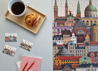 Children's games - Copenhagen jigsaw puzzle (1000 pieces) - MARTIN SCHWARTZ