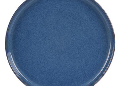 Assiettes au quotidien - ASSIETTE PLATE 26 CM UNO COBALT - TABLE PASSION
