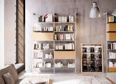Bibliothèques - Giostra L bibliothèque murale  - DAMIANO LATINI