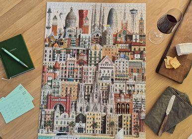 Cadeaux - Barcelona jigsaw puzzle (1000 pièces) - MARTIN SCHWARTZ