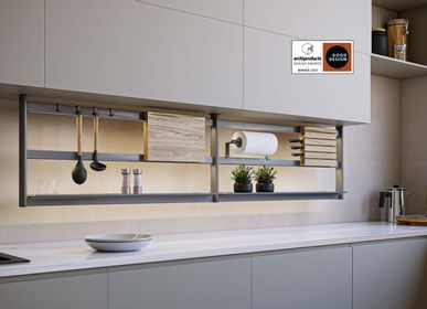 Kitchens furniture - Hang Lux kitchen racks system - DAMIANO LATINI