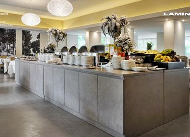 Kitchen splash backs - Fokos Terra coverings - LAMINAM FRANCE