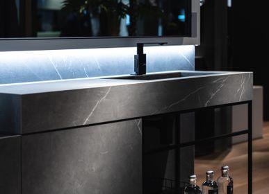 Kitchen splash backs - Pietra Grey coverings - LAMINAM FRANCE