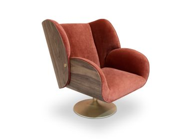 Lounge chairs for hospitalities & contracts - VIRGINIA | Armchair - ESSENTIAL HOME