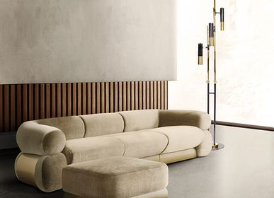 Sofas for hospitalities & contracts - FITZGERALD | Modular Sofa - ESSENTIAL HOME