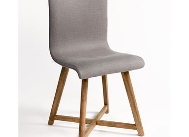 Chairs for hospitalities & contracts - CHAIR 9480OAK - CRISAL DECORACIÓN