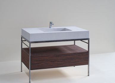 Washbasins - Integrated top with structure - POLLINI HOME