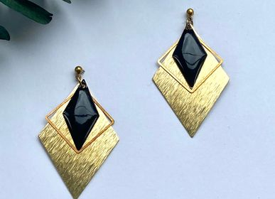 Jewelry - Brass earrings - NAO JEWELS