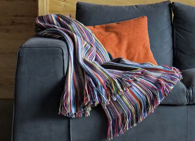 Throw blankets - Panama multicolor blanket - EAGLE PRODUCTS