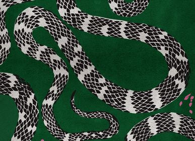 Tapestries - Snake Rug - RUG'SOCIETY