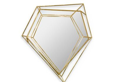 Mirrors - Diamond | Small Mirror - ESSENTIAL HOME