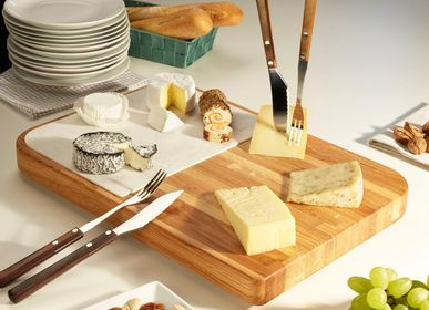 Cutlery set - Valais Cheese cutlery set for cheese tasting - LEGNOART
