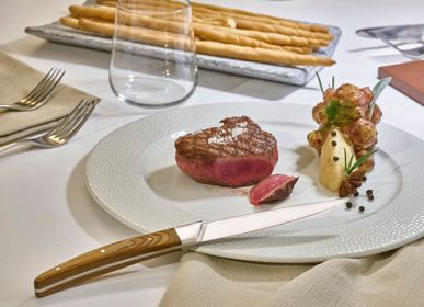 Kitchen utensils - Portehouse Set of 4 Steak knives , specifically designed for Steak and Cooking enthusiasts - LEGNOART