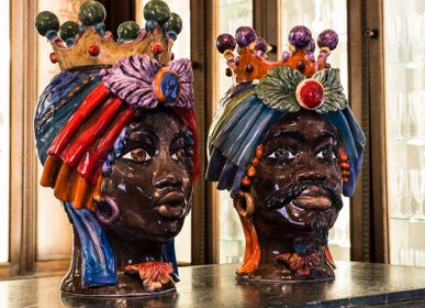 Ceramic - Heads of Moors - ARTEFICE ATELIER