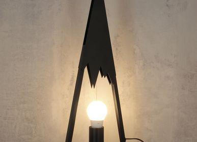 Table lamps - Table lamp black top - CRÉATIONS LÉONIE'S FRANCE