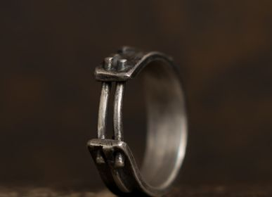 Jewelry - Diptych Ribbon Ring - L'ATELIER DES CREATEURS